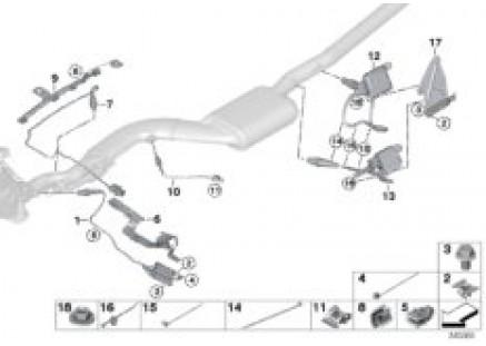 Exhaust-gas sensors / NOX sensor / SCR