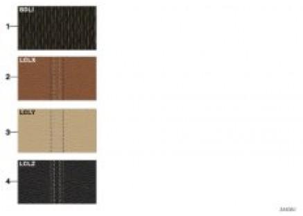 Sample chart Luxury Line upholst. colors