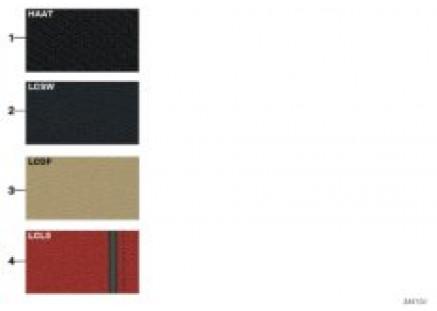 Sample chart M Sport Pack upholst. color