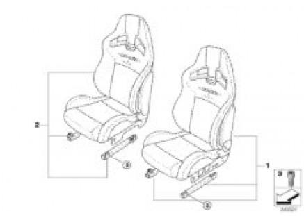 JCW Sports seat Recaro