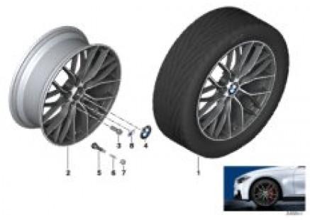 BMW LA wheel M Double Spoke 405-19''