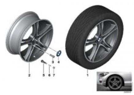 BMW LA wheel Double Spoke 361-19''