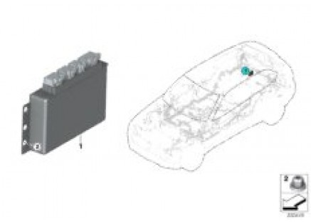 Rear differential QMV control unit