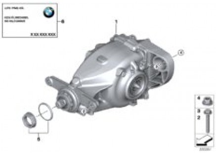 Rear differential / Mount