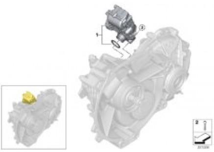 E-vehicle transmission single parts