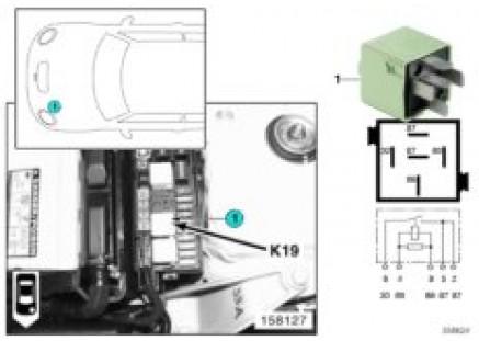 Relay for a/c compressor K19