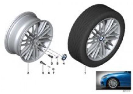 BMW LA wheel M Double Spoke 460 - 17''