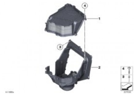 Single parts, blower housing