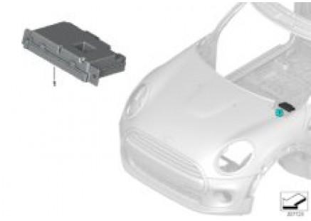 ECU for camera-based driver support