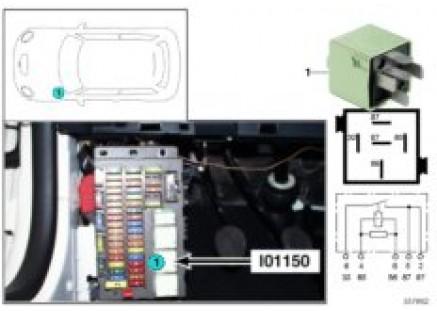 Relay for power socket I01150