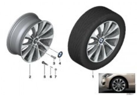 BMW LA wheel V-Spoke 387 - 18''
