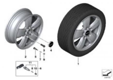 MINI LA wheel Heli-Spoke 492 - 15''