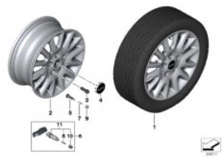 MINI LA wheel Victory Spoke 495 - 16''