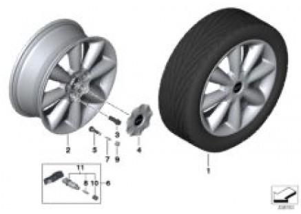 MINI LA wheel Cone Spoke 507 - 18''