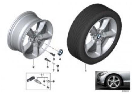 BMW LA wheel, Star Spoke 382