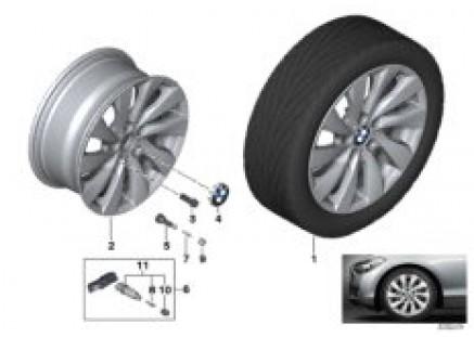 BMW LA wheel Turbine styling 381