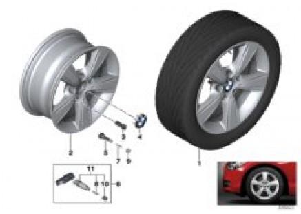 BMW LA wheel, Star Spoke 376