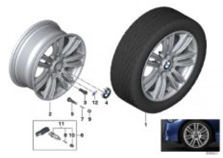 BMW LA wheel M Star Spoke 383-17''