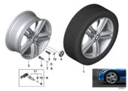 BMW LA wheel M Star Spoke 386-18''