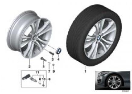 BMW LA wheel Double Spoke 384 - 18''