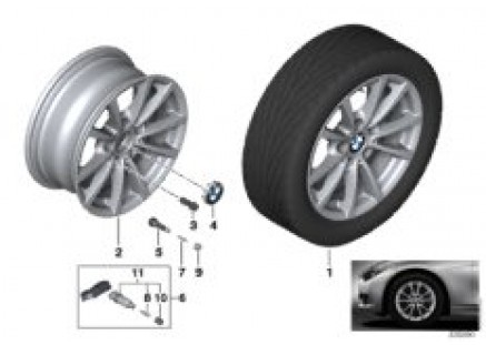 BMW LA wheel V-Spoke 390 - 16''
