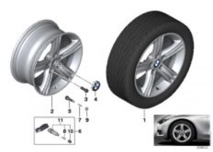 BMW LA wheel Star Spoke 393 - 17''
