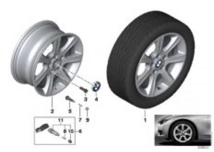BMW LA wheel Star Spoke 394 - 17''