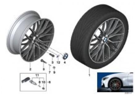 BMW LA wheel M Double Spoke 405-20''