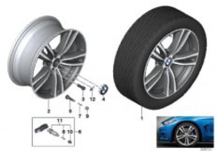 BMW LA wheel M Double Spoke 442 - 19''