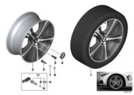 BMW LA wheel Star Spoke 407 - 19''