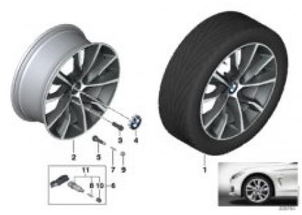 BMW LA wheel Turbine Styling 402 - 19''