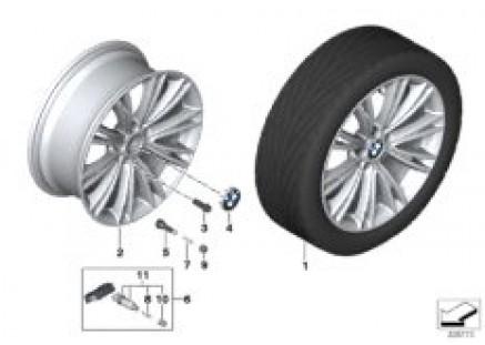 BMW LA wheel Individual V-Spoke 626