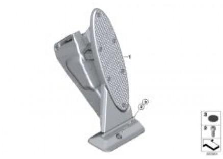 Acceleration/accelerator pedal module