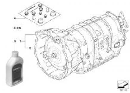 Automatic transmission A5S360R / A5S390R