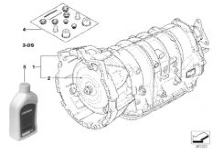 Automatic transmission A4S200R