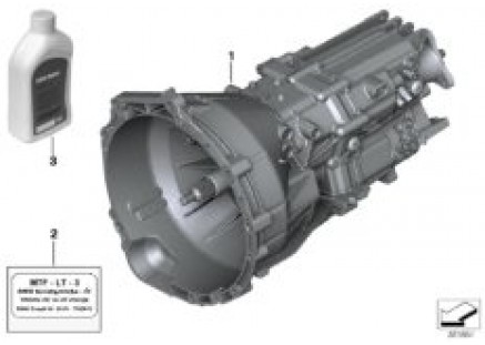 Manual transmission GS6-17AG