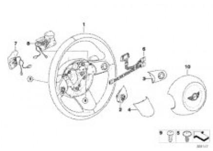 Airbag sports st. whl multif. Steptronic