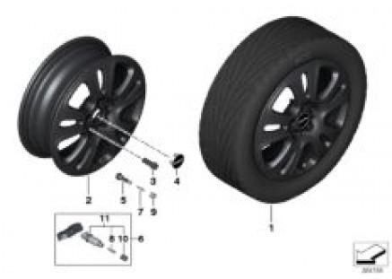 MINI LA wheel Double Spoke 510
