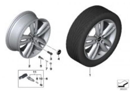 MINI LA wheel Track Spoke 562 - 17''