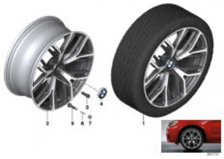 BMW LA wheel Y-Spoke 542