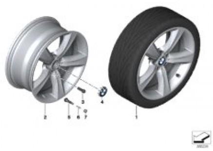 BMW LA wheel Double Spoke 606-19''