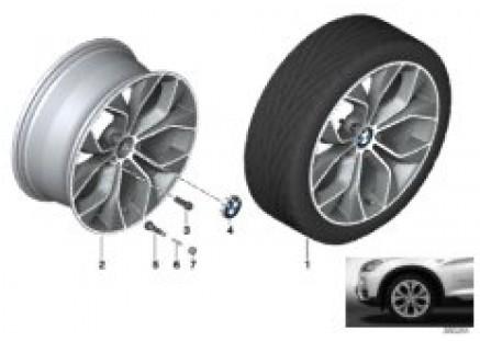 BMW LA wheel Y-Spoke 608-19'''