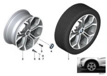BMW LA wheel Y-Spoke 607-18''