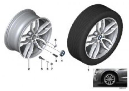 622 BMW LA wheel M double-spoke - 19