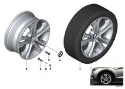 BMW LA wheel Double Spoke 605-18''