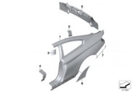Side panel/tail trim