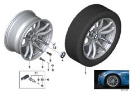 BMW LA wheel V-Spoke 513M - 18