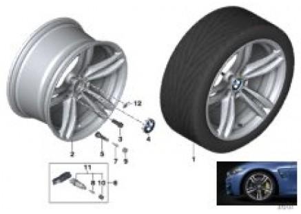 BMW LA wheel M Double Spoke 437M - 19
