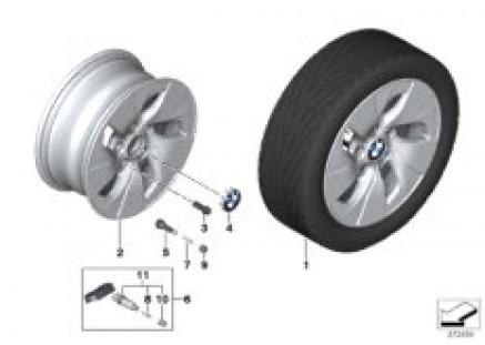 BMW LA wheel Turbine Styling 406 - 16''