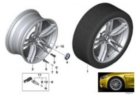 BMW LA wheel V-Spoke 641M - 19